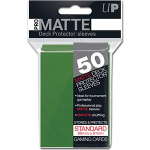 Card Sleeves Standard Pro-Matte -Green-