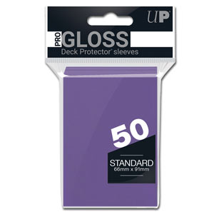 Card Sleeves Standard -Purple-