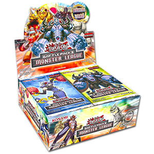 Yu-Gi-Oh! Battle Pack 3: Monster League Booster Display
