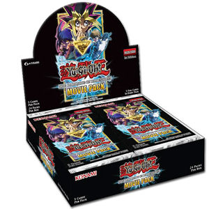 Yu-Gi-Oh! The Dark Side of Dimensions Movie Pack Booster Display