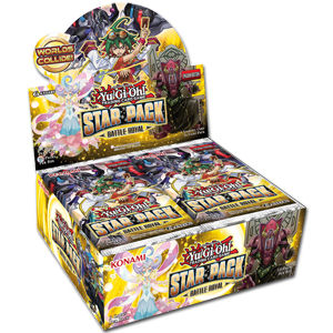 Yu-Gi-Oh! Star Pack Battle Royal Booster Display