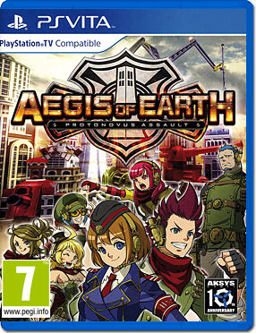 Aegis of Earth: Protonovus Assault -US-