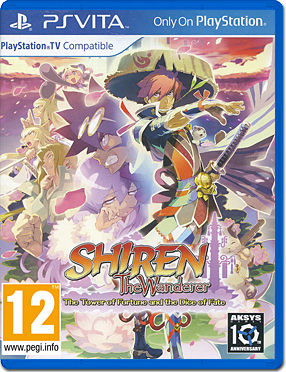 Shiren the Wanderer: The Tower of Fortune and the Dice of Fate -US-