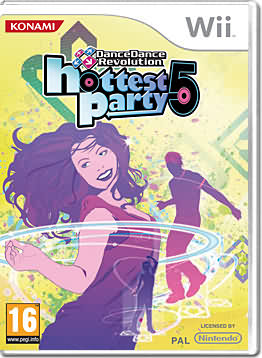DanceDance Revolution Hottest Party 5 (nur Spiel)