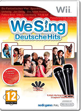 We Sing Deutsche Hits (inkl. 2 Mikrofone)