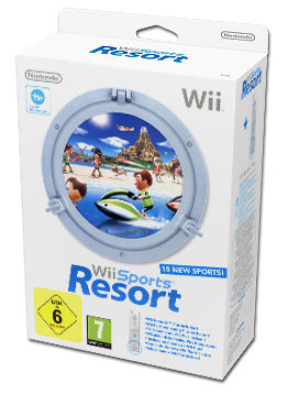 Wii Sports Resort (inkl. Wii Fernbedienung Plus -weiss-)