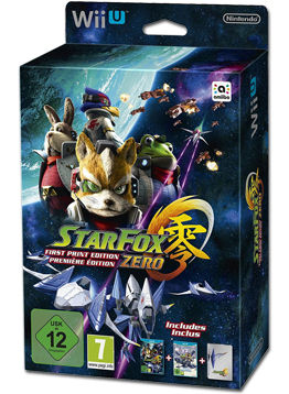 Star Fox Zero - First-Print Edition (inkl. Star Fox Guard)