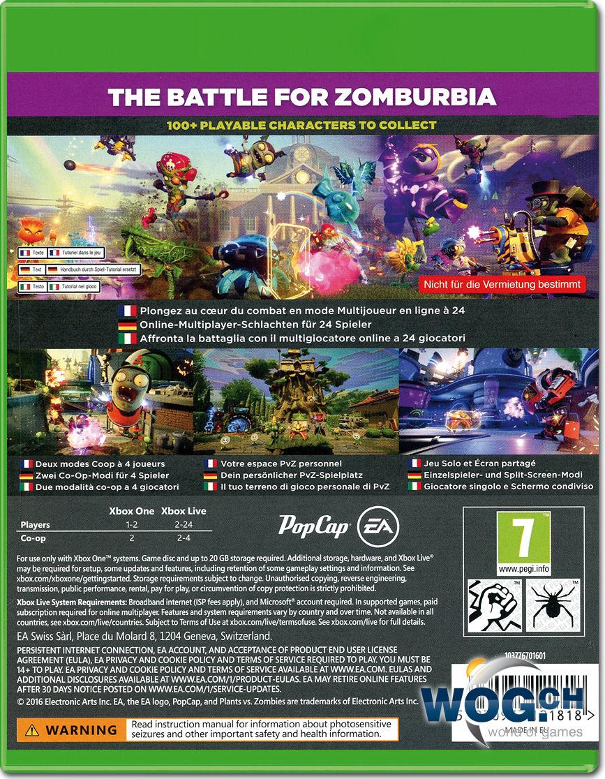 Plants vs zombies garden warfare 2 xbox one world of games for Plants vs zombies garden warfare 2 xbox 1