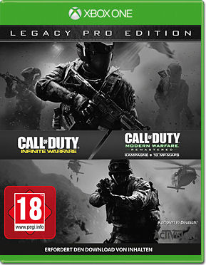 Call of Duty: Infinite Warfare - Legacy Pro Edition (inkl. Zombies und Terminal-Map)