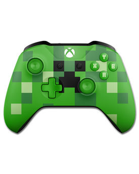 Controller Wireless Xbox One -Minecraft Creeper- (Microsoft)