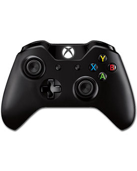 Controller Wireless Xbox One -Black- (Microsoft)