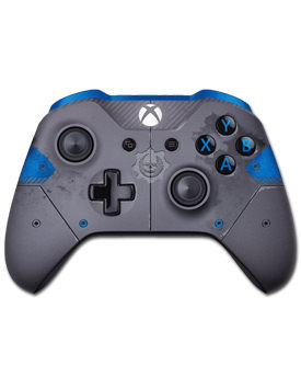 Controller Wireless Xbox One -Gears of War 4 Blue- (Microsoft)