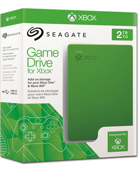 Game Drive Harddisk 2 TB HDD USB 3.0 (Seagate)