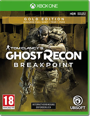 Ghost Recon Breakpoint - Gold Edition (inkl. Parachute-Armband & DLC)