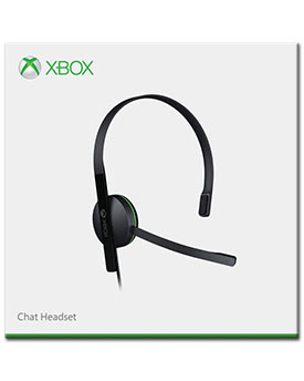 Headset Chat -black- (Microsoft)