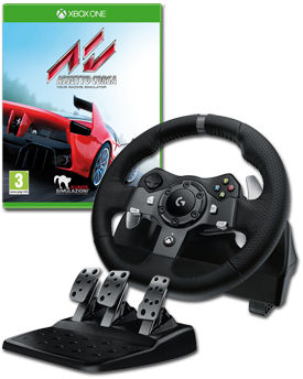 Lenkrad G920 Driving Force Bundle inkl. Assetto Corsa (Logitech)