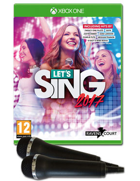 Let's Sing 2017 (inkl. 2 Mikrofone)