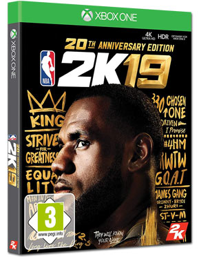 NBA 2K19 - 20th Anniversary Edition