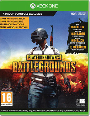 PLAYERUNKNOWN'S BATTLEGROUNDS - Game Preview Edition (Code in a Box)