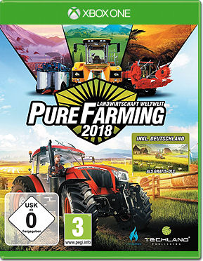 Pure Farming 2018 - Day 1 Edition