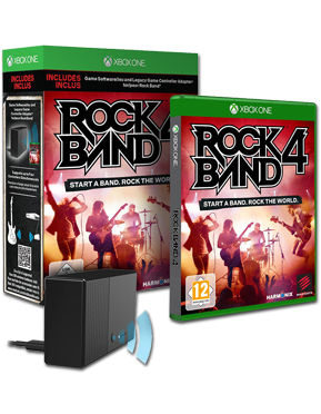 Rock Band 4 (Spiel & Legacy Adapter)