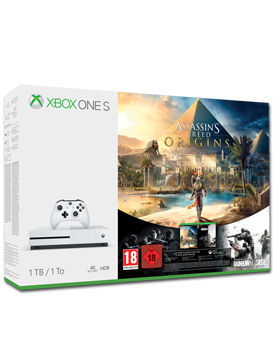 Xbox One S Konsole 1 TB - Assassin's Creed Origins Set (Microsoft)