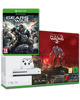 Xbox One S Konsole 1 TB - Gears of War 4 Set (Microsoft)