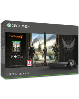 Xbox One X 1 TB - The Division 2 Set (Microsoft)