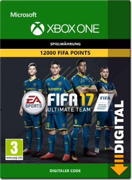 FIFA 17 Ultimate Team: 12000 Points