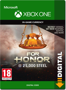 For Honor: 25000 Steel Points