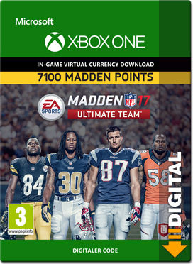 Madden NFL 17 Ultimate Team: 7100 Madden Points