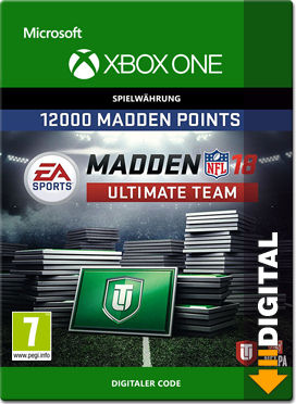 Madden NFL 18 Ultimate Team: 12000 Madden Points