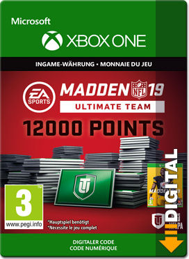 Madden NFL 19 Ultimate Team: 12000 Madden Points