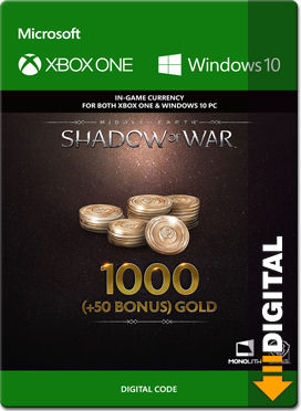 Middle-earth: Shadow of War - 1050 Gold (XPA Version)