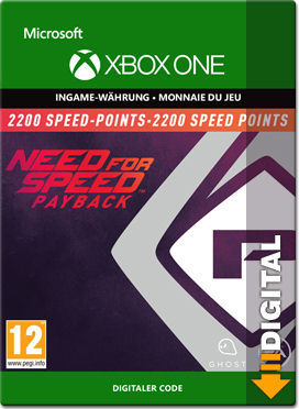 Need for Speed Payback: 2200 Speed Points