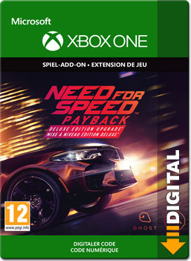 need for speed payback deluxe edition upgrade xbox one digital world of games. Black Bedroom Furniture Sets. Home Design Ideas