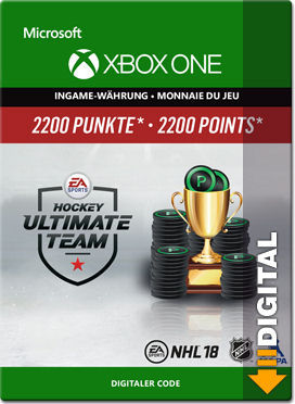 NHL 18 Ultimate Team: 2200 Points