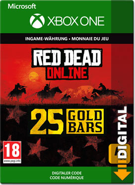 Red Dead Redemption 2: 25 Gold Bars