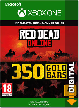 Red Dead Redemption 2: 350 Gold Bars