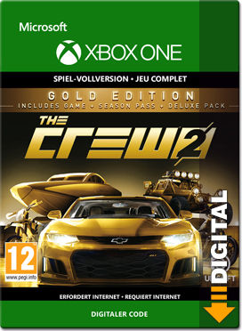 the crew 2 gold edition xbox one digital world of games. Black Bedroom Furniture Sets. Home Design Ideas