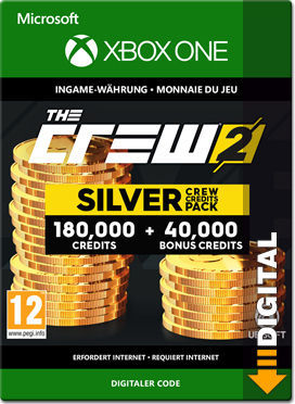 The Crew 2 - Silver Crew Credit Pack