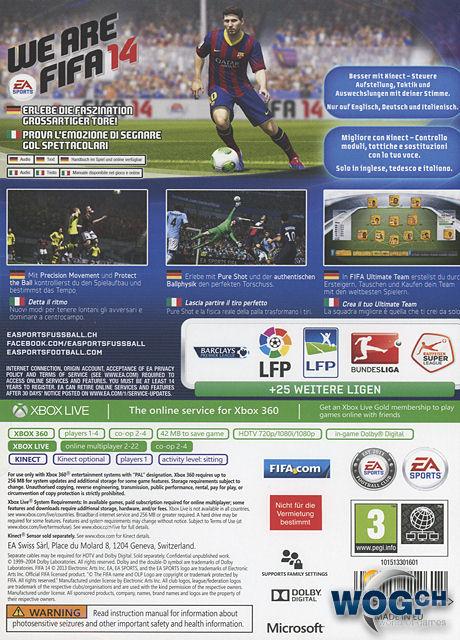 CHOLLO FIFA 14 a 6,46€