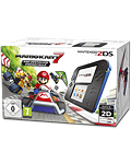 Nintendo 2DS Mario Kart 7 Bundle -Black/Blue- (Nintendo 3DS)