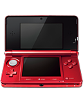 Nintendo 3DS -Metallic Red-