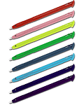 Stylus Pens New 3DS XL 8er Pack (Hama)