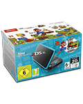 New Nintendo 2DS XL -Black Turquoise inkl. Super Mario 3D Land-