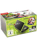 New Nintendo 2DS XL -Black Lime Green inkl. Mario Kart 7-