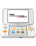 New Nintendo 2DS XL -White Orange-