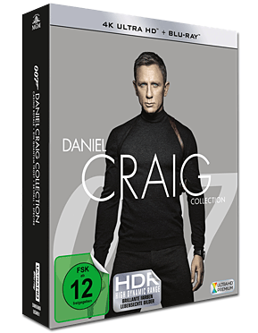 Daniel Craig Collection Blu-ray UHD (8 Discs)