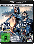 Alita: Battle Angel Blu-ray UHD (3 Discs)